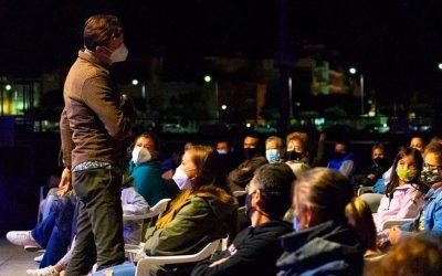 Edu Soto cierra con humor el recién nacido festival Rocart de Peñíscola