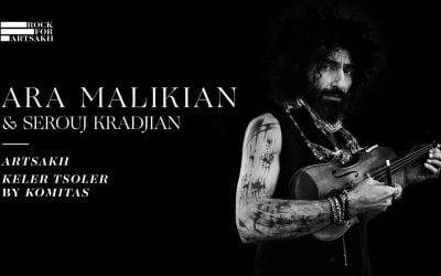 Ara Malikian expresa con el violín su apoyo a Artsakh