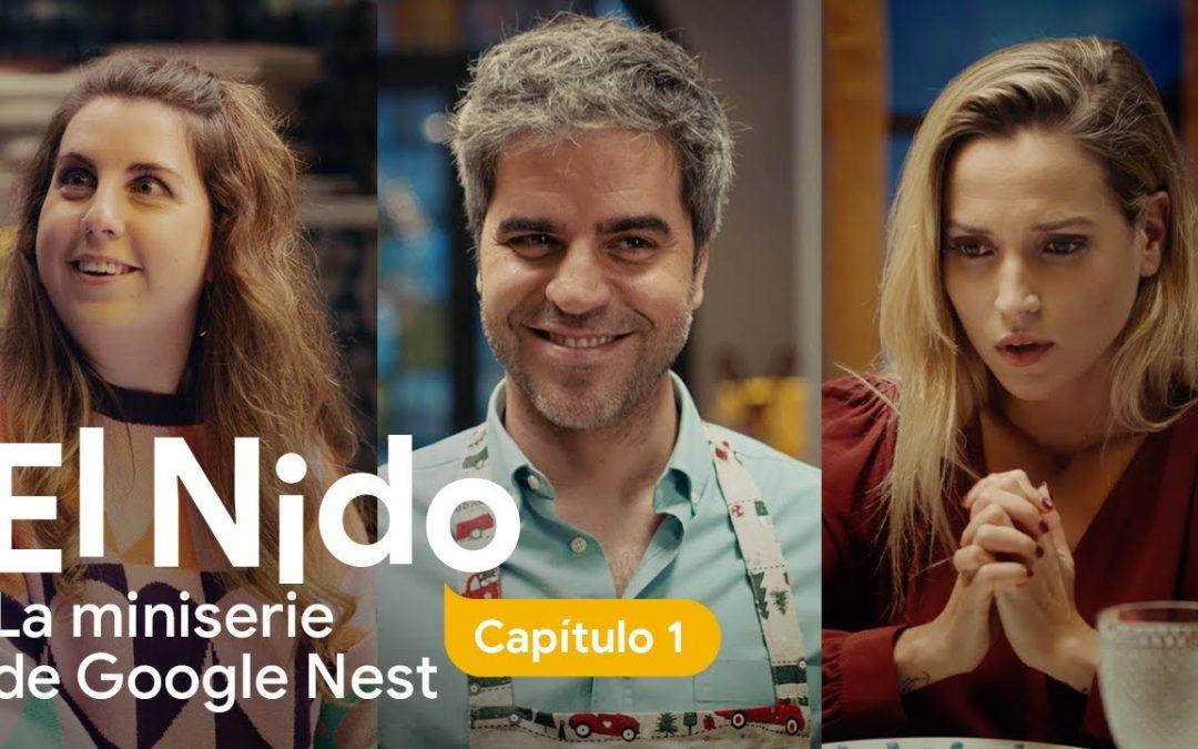 Ernesto Sevilla protagoniza 'El nido', primera serie de Google Nest