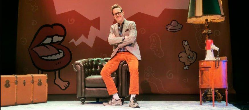 Joaquín Reyes consigue festejar la broma con éxito durante dos semanas en el Teatro La Latina de Madrid