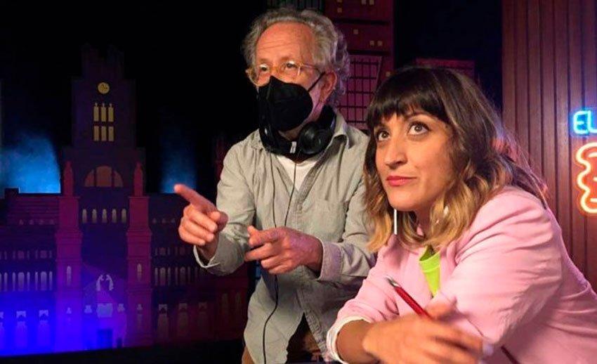 Susi Caramelo entra en el mundo del cine con Fernando Colomo